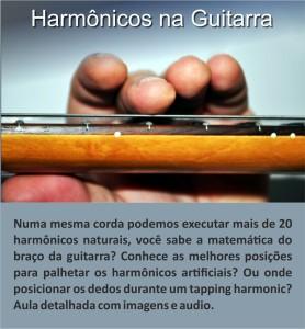 Aula - Harmônicos na Guitarra 1